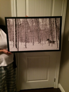 Home Wall Decor - Woods Picture