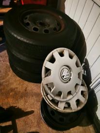 VW Mk4 Golf Wheels and Tyres Inc VW trim