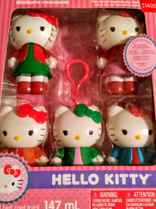 Hello Kitty bubble bath set