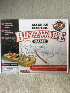 BRAND NEW - WILD SCIENCE MAKE AN ELECTRIC BUZZWIRE GAME