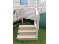 Caravan stairs plastic