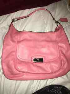 Large Pink Coach Purse