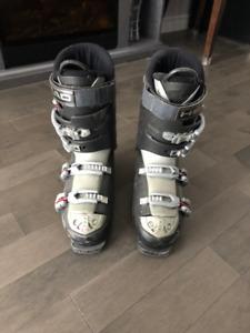 Bottes et ski alpin