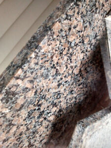 ASSORTED GRANITE PIECES