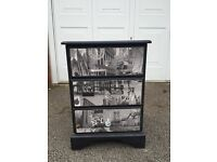 New York drawers, bedside cabinet