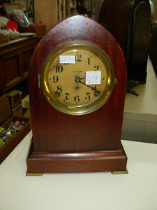 Seth Thomas Gothic Cathedal Mantle Clock