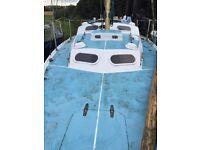 Kingfisher 30 cruising yacht 6 berth