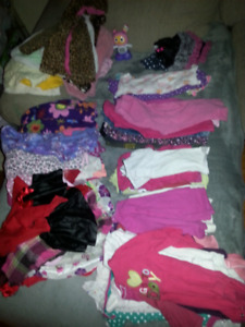70 pc 12-18 month girls clothing lot