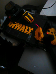 Dewalt lithion Power Drill set