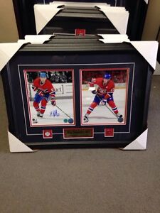 Max Pacioretty signed double 8x10 with coa Montreal Canadiens
