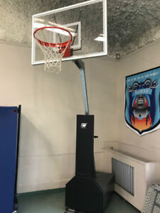 Bison Professional portable basketball hoop