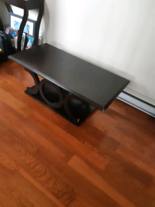 Coffee table with matching end table