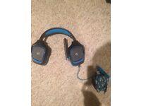 Logitech gaming g430 headset w mic