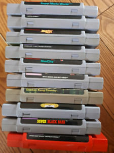 Super Nintendo with 10 games 2 controllers. Turtles in time