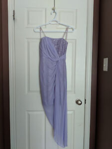 STRAPLESS LILAC DRESS FROM LE CHATEAU