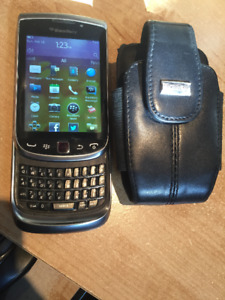 Blackberry Torch - with case / avec étui