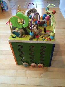 Baby stand up activity toy