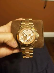Michael Kors Runway Watch (Rose Gold)