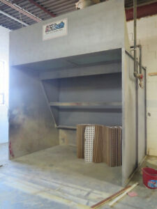 Kitchen Cabinet Paint Booth