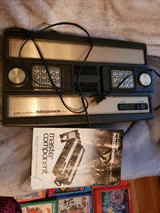 Intellivision with Games & Intellivoice
