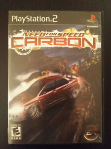 Need for Speed Carbon for PS2