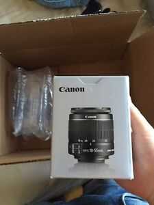 Canon New Canon EF-S 18-55mm f/3.5-5.6 IS STM Camera Lens