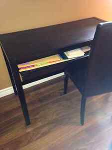 Black Computer desk and Chair