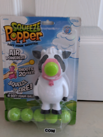 Squeeze popper cow new
