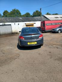 Vauxhall insignia 2013 2litre Sri satnav cdti