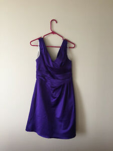 Women's Size 6 Purple Dress David' Bridal - $60