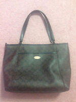Authentic Coach brown shoulder bag