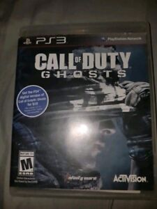 Call of duty ghost for ps3