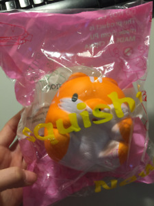 Hamster squishy! Slow rising, and soft