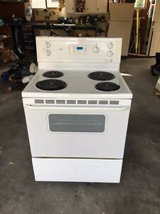 30 in electric stove and microwave- exhaust fan