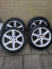 350z alloys and tyres