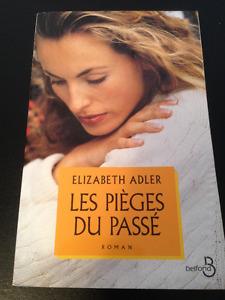 Livre Elizabeth Adler Les pièces du passé