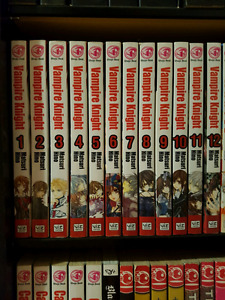 Vampire Knight Volumes 1-12