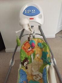 Fisher Price children's electronic swing