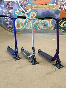 Pro trick scooters, completes and parts!