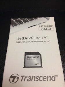 Brand new JetDrive Lite 130 64GB