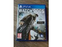 WATCH DOGS PS4 GAME - MINT CONDITION