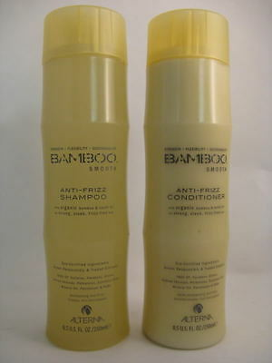 - Alterna  Bamboo Smooth Shampoo Conditioner 8.5oz DUO for frizzy/curly hair