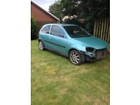 Corsa sxi twinport breaking for parts only