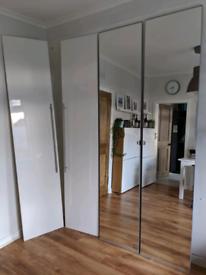 VIKEDAL Mirror Pax IKEA Doors 236cm height (50x229 size)