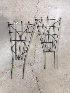 Two 3 foot trellis for sale