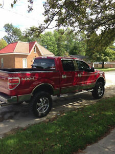 2009 Ford F-150 SuperCrew LIFTED Pickup Truck
