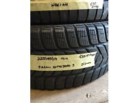 225/45/17 91H pirelli sotto zero3 fitted £35