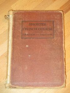 1913, Livre SHORTER FRENCH COURSE