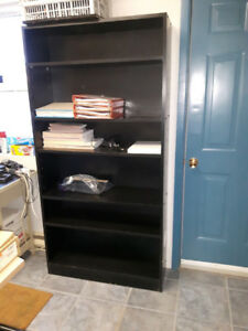 Black Bookcase for sale