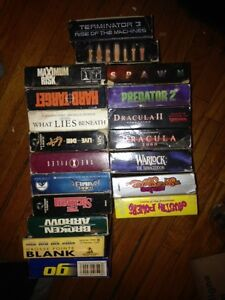 140 VHS Movies, film of year, action ask 1.00 or BO takes all London Ontario image 5